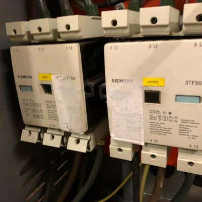 After a phase loss out of 3 during the operation the 75kw02