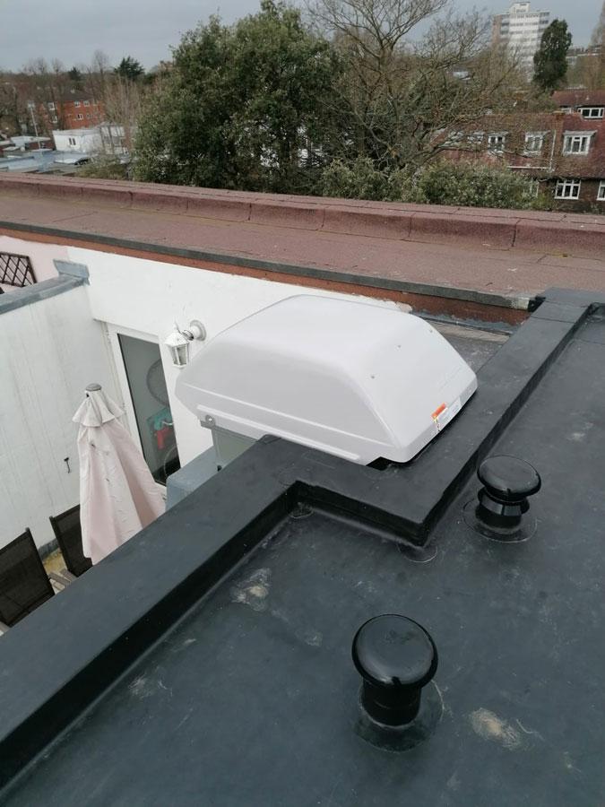 Rooftop-extractor–installation