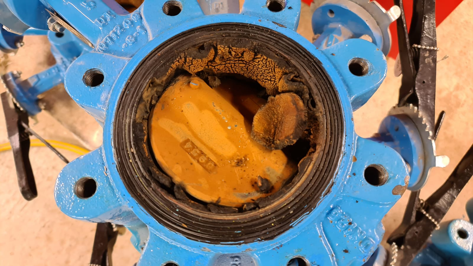 Over £3,000 of damage just on the butterfly valves due to lack of inhibitor in the system over the last few years01